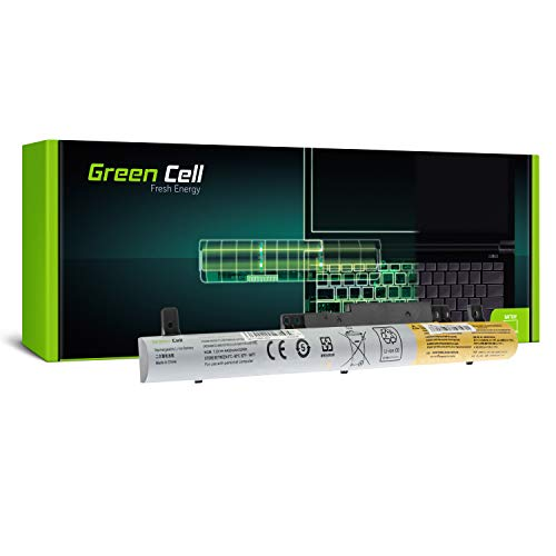 GC® Laptop Akku für Lenovo Flex 2 14 20404 20432 80FJ 80GS 14D 20376 80EE 15 (4400mAh 7.2V Schwarz)