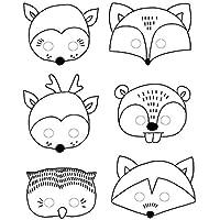 Suchergebnis Auf Amazon De Fur Masken Zum Ausmalen Verkleiden