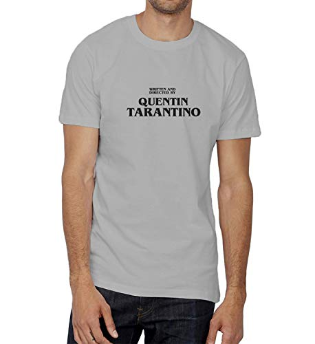 Tarantino Movies Realisator Cinema Artist Art_000447 Ugly T-Shirt Birthday for Him 2XL Man Grey