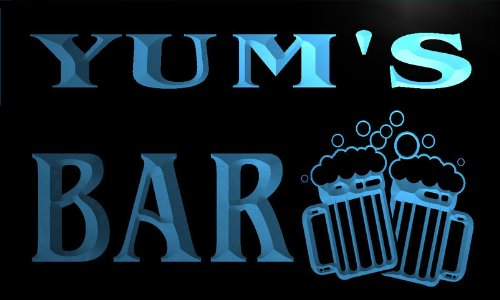 w033734-b-yum-name-home-bar-pub-beer-mugs-cheers-neon-light-sign-barlicht-neonlicht-lichtwerbung