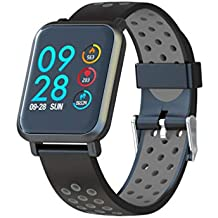 Leotec LESW14DK Multisport Helse-Smartwatch, Color Gris