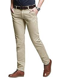 Amazon.es  Pantalones De Vestir Hombre - Hombre  Ropa 5267c67cb3ae
