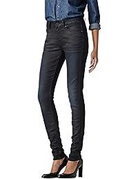 G-STAR Damen Skinny Jeanshose 3301 Contour High - Slander superstretch, Gr. W24/L30, Blau (dk aged 89)