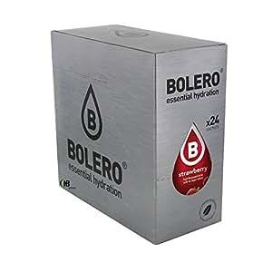 Bolero Drinks 24 bustine da 9 grammi gusto Almond ( Mandorla ) Preparato istantaneo per Bevande con Stevia e Vitamina C