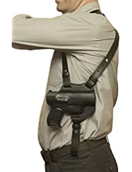 Pistolera de hombro (piel vlamitex PPQ M2Walther P99P22, negro, Schulterholster