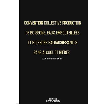 Convention collective de production de boissons, eaux et rafraichissantes sans alcool et bières 2019