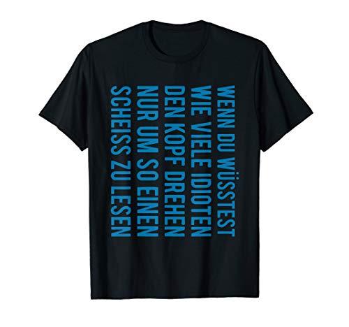 Wie viele Idioten machen den Geschenk Idioten lustig T-Shirt