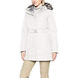 The North Face W Brooklyn Parka 2 Chaqueta, Mujer, Vintage White, M