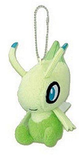 Pokemon Diamond & Pearl 2010 Mini Plush Swing Keychain-4.5