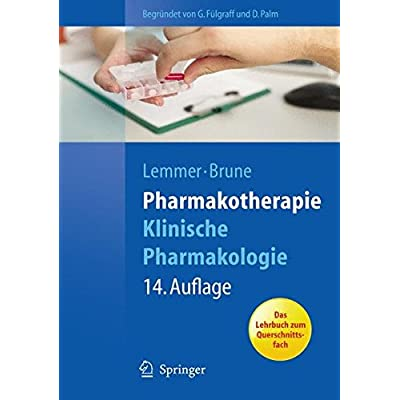 Pdf Pharmakotherapie Klinische Pharmakologie Springer Lehrbuch Kostenlos Download Lesen Sie Das Vollstandigste Online Buch 24