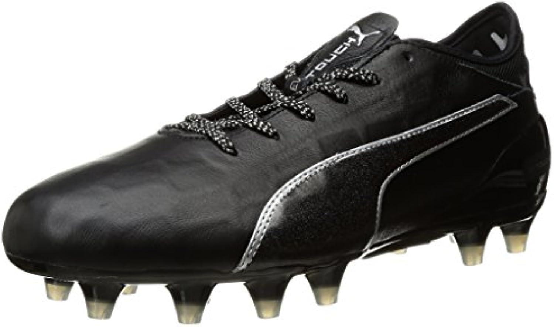 Scarpe da calcio Evotouch 2 2 2 FG da uomo, Puma nero-Puma nero-Puma argento, 4 M US | Negozio  | Uomini/Donne Scarpa  43e1b6