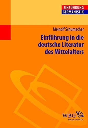 Einführung in die deutsche Literatur des Mittelalters (Germanistik kompakt)
