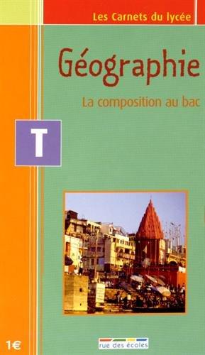 Term Géographie : la composition au bac