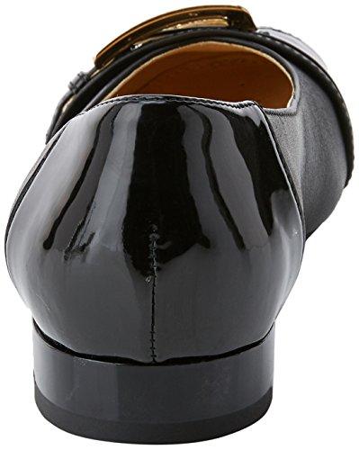 Geox Damen D Wistrey E Geschlossene Ballerinas Schwarz (Black)