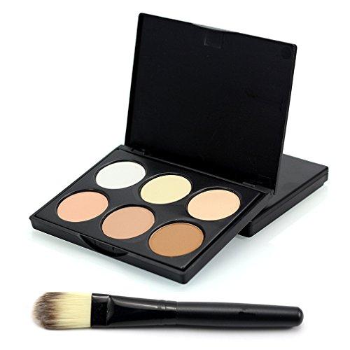 pure-vie-pro-1-pcs-make-up-brushes-6-colours-cream-concealer-camouflage-makeup-palette-contouring-ki