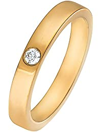 CHRIST Diamonds Damen-Ring 333er Gelbgold 1 Brillanten ca. 0,06 ct. (gold)