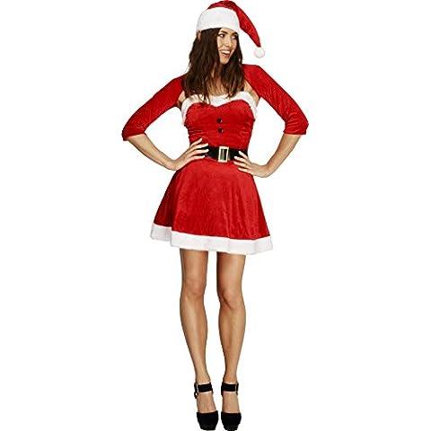 Smiffy's - Disfraz de Mamá Noel para mujer