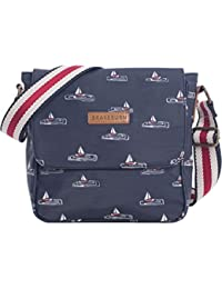 Brakeburn Boats Cross Body Bag - Bolso de hombro de Lana Mujer