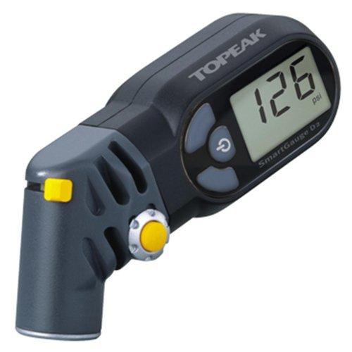 TOPEAK SmartGauge D2 Digital Manometer SmartHead Reifendruck Prüfer Presta Schrader 17 Bar, 15712000