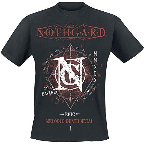 Nothgard Epic Melodic Death Metal T-Shirt schwarz M