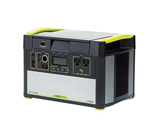 Goal Zero Unisex Yeti 1400 Lithium Powerbank, schwarz, Nicht Nicht zutreffend