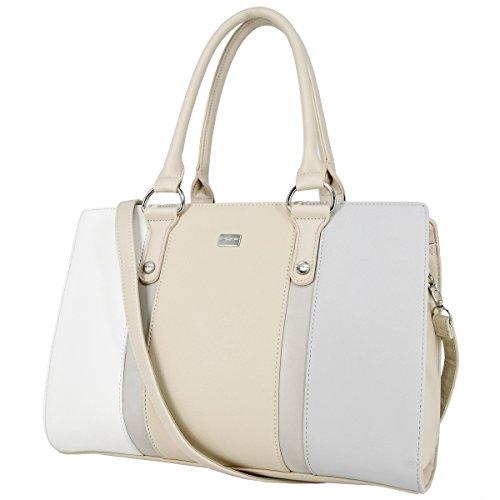 2a6e694c4d039 David Jones - Damen Handtasche Henkeltasche Schultertasche - Elegant Frauen  Große Tasche mit Lange Griffe Henkel ...