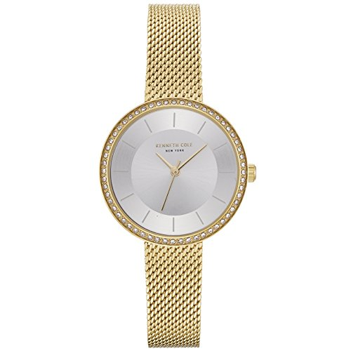 Kenneth Cole Womens Analogue Quartz Watch with Stainless Steel Strap KC50198005