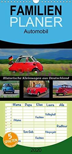 Historische Kleinwagen aus Deutschland - Familienplaner hoch (Wandkalender 2020 , 21 cm x 45 cm, hoch): Diese ganz Kleinen zählen zu den ganz Großen (Monatskalender, 14 Seiten ) (CALVENDO Mobilitaet)