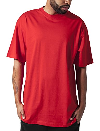 Xx Large Red T-shirt (Urban Classics TB006 Herren T-Shirt Tall Tee | Oversize Shirt, Rot (Red 199), XX-Large)