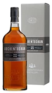 Auchentoshan - Three Wood - Lowland Single Malt Scotch Whisky - 70cl - 43% ABV by Auchentoshan