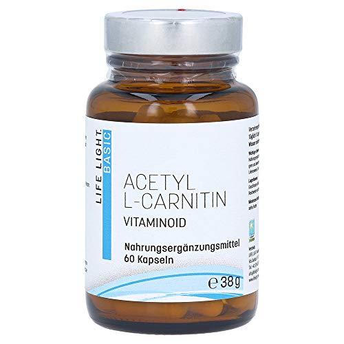 ACETYL-L-CARNITIN 500 mg Kapseln 60 St Kapseln