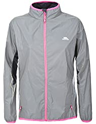 Trespass Women's Lumi Active Windproof and Waterproof Cycling and Running Outdoor Luminous Jacket