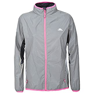 Trespass Women's Lumi Active Windproof and Waterproof Cycling and Running Outdoor Luminous Jacket 8