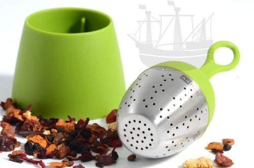 Tee-Ei FLOATEA, schwimmend, grün - Bremer Gewürzhandel