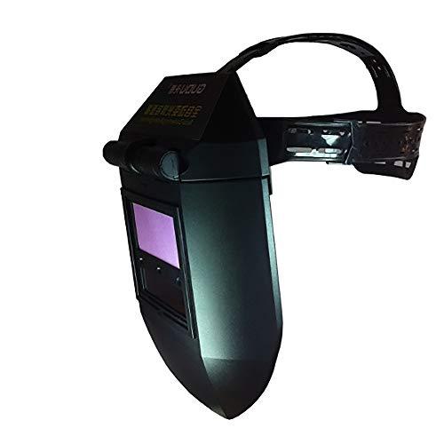 Máscara de soldadura Máscara de soldadura - Máscara de atenuación automática Tapa de soldadura Casco de soldador solar Soldadura de arco de argón Casco de soldadura de gas -@