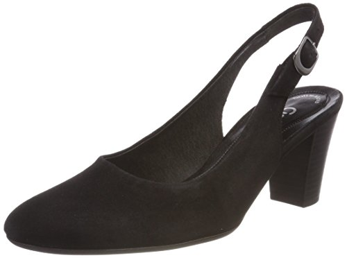 Gabor Shoes Damen Comfort Fashion Pumps, Schwarz (Schwarz), 42.5 EU