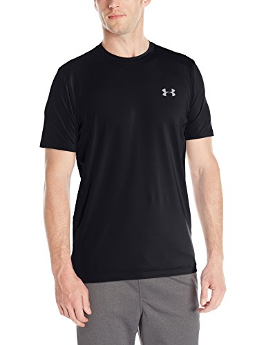 Under Armour Fitness Raid Short Sleeve Tee Herren Fitness - T-Shirts & Tanks, Black, XXL, 1257466 (Schwarzer Ausgestattet Tee)