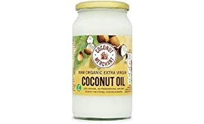Coconut Merchant Organic Coconut Oil 1L | Extra Virgin, Raw, Cold Pressed, Unrefined | Ethically Sourced, Vegan, Ketogenic and 100% Natural - 1L
