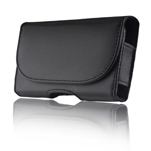 Markenlos TF Gürteltasche für Samsung Galaxy S7 Edge Handytasche Seitentasche Quertasche Trageclip Schutz Hülle Handy Tasche Holster Case Schutzhülle Schutz Gürtelschlaufe
