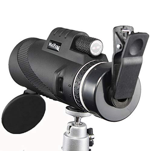 Monocular 40X60 Leistungsstarke Ferngläser Hochwertiger Zoom Großes Handheld-Teleskop LLL Nachtsicht Militär HD Professionelle Jagd