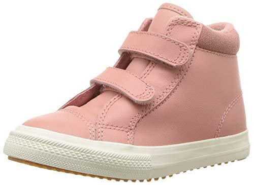 Converse Unisex-Kinder Chuck Taylor All Star 2V PC Boot Sneakers, Mehrfarbig (Rust Pink/Burnt Caramel 668), 25 EU