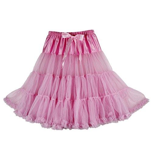 Buenos Ninos Womens 50s Vintage Petticoat Skirts Net Underskirt Slips for Wedding Party Dress 25.5