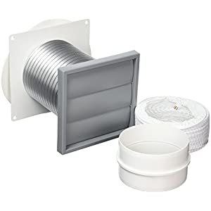 Bulk Hardware BH05720 Tumble Dryer Ducting Kit, 100mm (4 Inch)