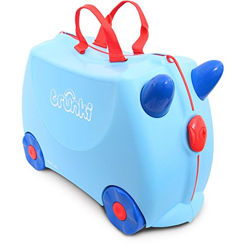 trunki Ride-On Koffer befahrbarer Kindertrolley 46 cm
