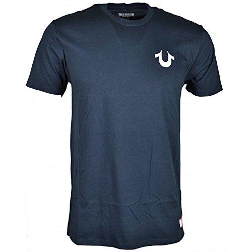 True Religion -  T-shirt - Maniche corte  - Uomo Navy Small