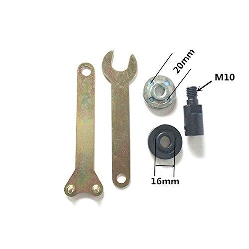 M10 Schaft H¨¹lse Schleifscheibe Polierplatte Schneiden S?geblatt Anschluss Set