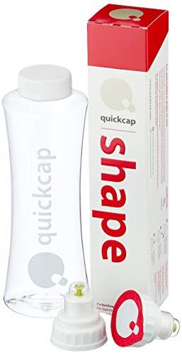 Quickcap für das gute Gefühl in Shape zu sein wissenschaftlich formuliertes Nahrungsergänzungsmittel, Coenzym Q10, L-Carnitin und Cucuma-Extrakt, 7 Stück -