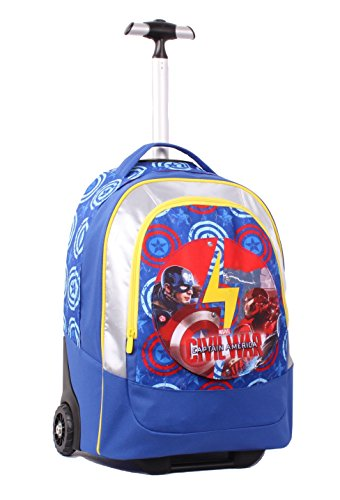 Seven Captain America Civil War 2B8001605-591 Zaino, 30 litri, Poliestere, Multicolore