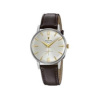 Festina Reloj Análogo clásico para Hombre de Cuarzo con Correa en Cuero F20248/2