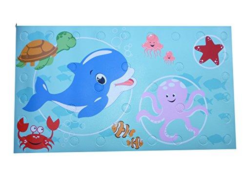 Rutschfeste Badematte rutschfeste PVC wärmeempfindliche Baby Kinder Badteppich Farbe Change Warnanzeige New